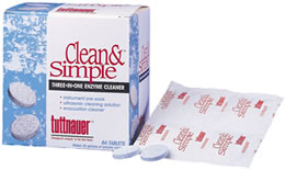 tuttnauer enzymatic tablets